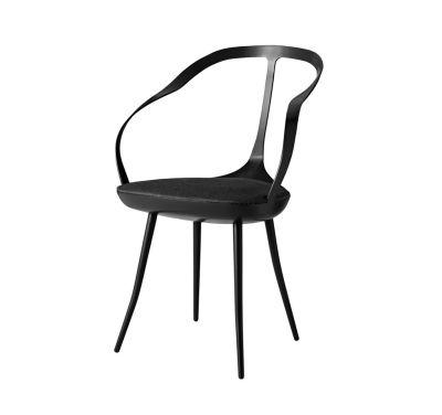 Mollina Chair Black, Paranà - Bianco 157