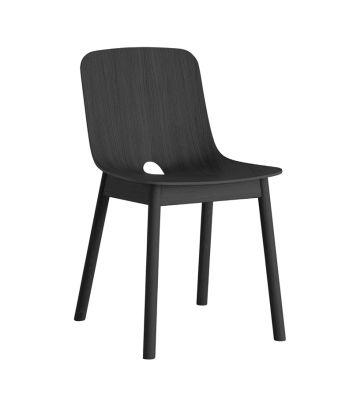 Mono dining chair - set of 2 Black