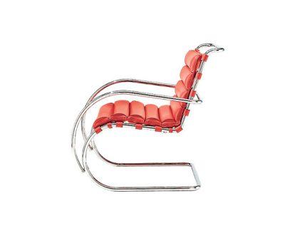 MR Lounge Armchair - AD6021 Leather 44SH x 83H x 65W x 97D cm