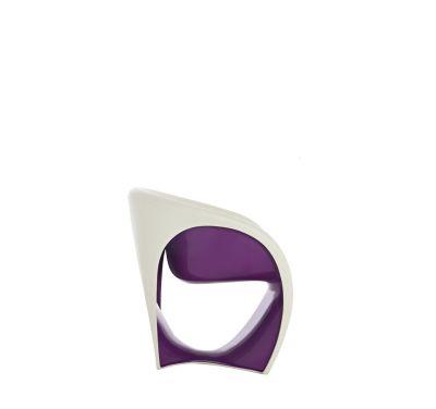 MT1 Armchair Sand White/Violet