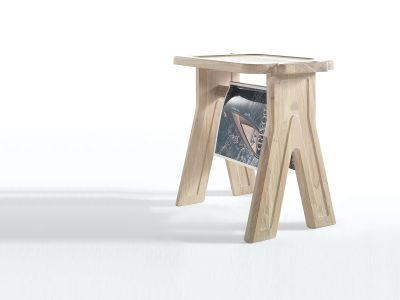 Multibanqueta Stool Oak Natural