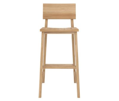 N4 Bar Stool Oak
