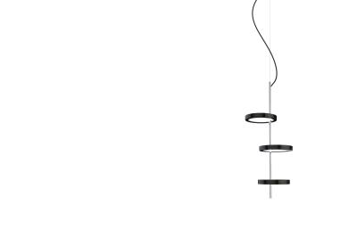Nenúfar Pendant Light Marset - Black, 3