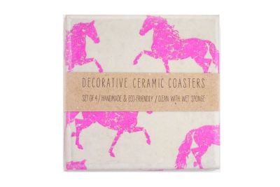 Neon Horses Coasters