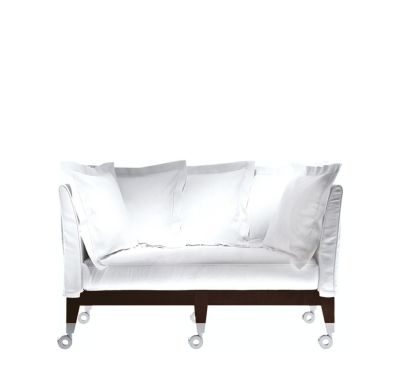 Neoz Two-Seater Sofa White