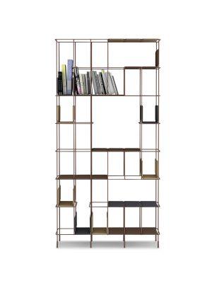 Network Bookshelf anthracite, A2593 - Extrema/AU 2250 black