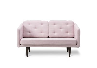 No. 1 2-seater Sofa Sunniva 2632, oak smoked