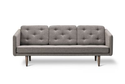 No. 1 3-seater Sofa Molly 2164, smoked oak base