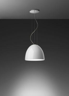 Nur Gloss Mini Pendant Light Glossy Black