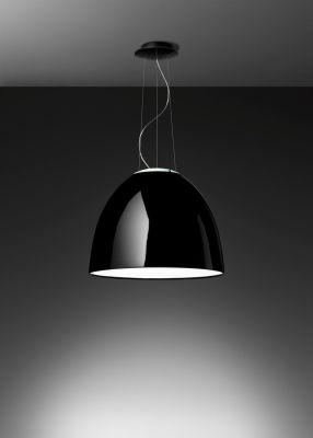 Nur Gloss Pendant Light Glossy Black