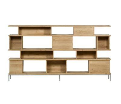 Oak Ligna Rack 260 x 37 x 145 cm