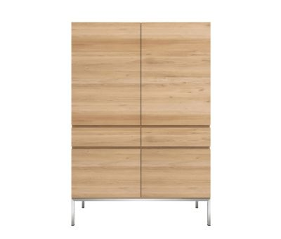 Oak Ligna Storage Cupboard