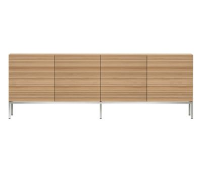 Oak Stonecut Sideboard 4 doors