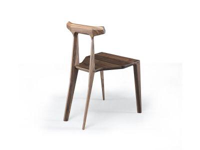 Orca Chair Walnut Natural