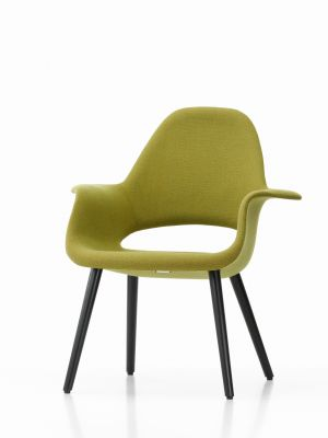 Organic Chair Hopsak 71 yellow/pastel green, 10 Natural oak with protective varnish