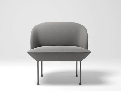 Oslo Lounge Chair Skai Parotega NF amethyst
