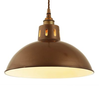 Osson Pendant Powder Coated Bronze