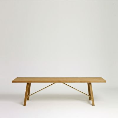 Outdoor Bench Two Oak, 160 cm