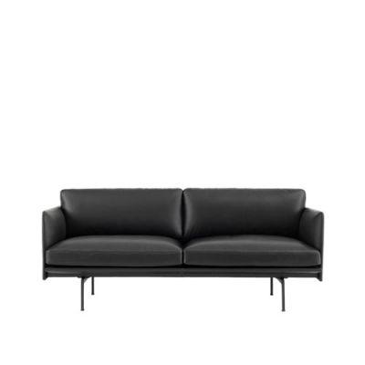 Outline Sofa - 2 Seater Elmo Soft Leather 00100