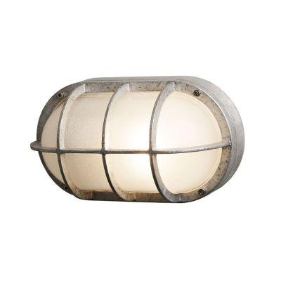 Oval Aluminium Bulkhead 8122 G24d