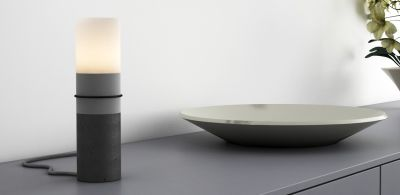 PAPEL concrete table lamp