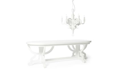 Paper Dining Table White