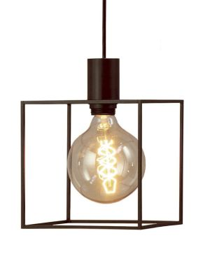 Paradice Naked Pendant Light Black Iron
