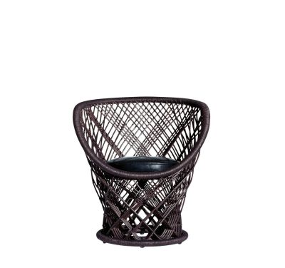 Pavo Armchair Black Leather