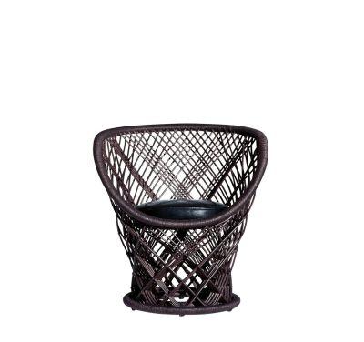 Pavo Armchair Black Leather