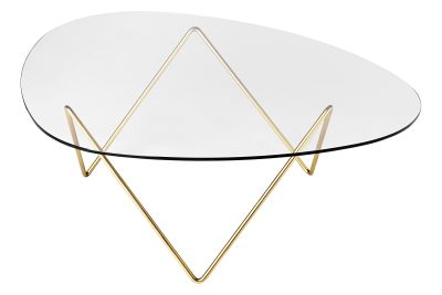 Pedrera Coffee Table Frame Brass