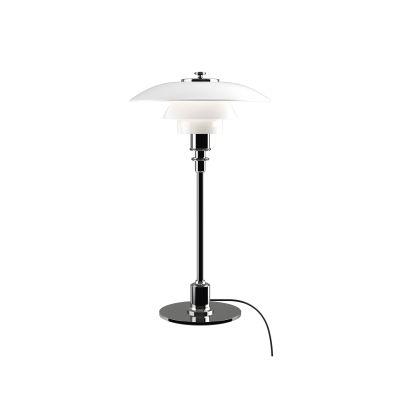 PH 2/1 Table UK Plug, High lustre chrome plated