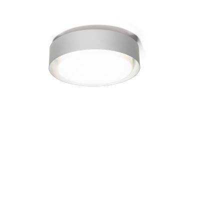 Plaff-on! Ceiling Light - LED Marset - Silver Grey, 33cm , Triac