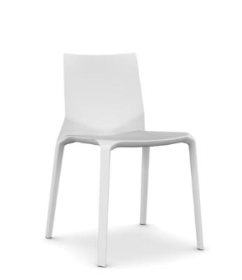 Plana Chair White polypropylene, N/A