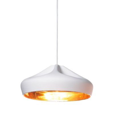 Pleat Box Pendant Light Marset - Brown - gold, 44cm, Yes