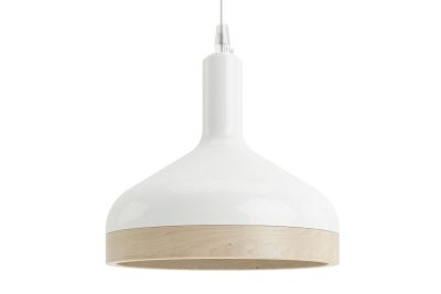 Plera Suspension Lamp White