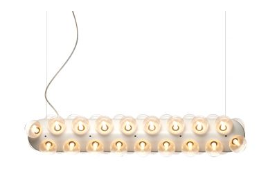 Prop Pendant Light - Double, Horizontal 2700K