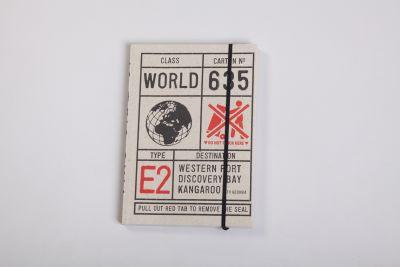 Pulp Notebook Cartonnage 635