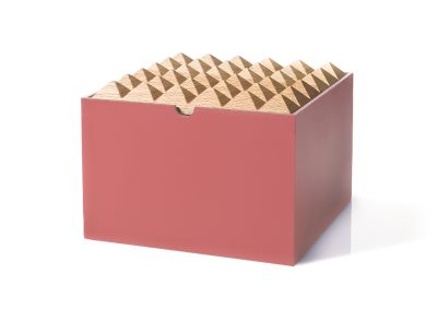 Pyramid Boxes Extra Large Burnt Red