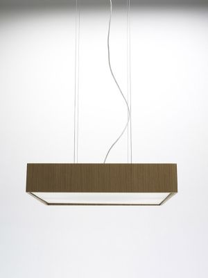 Quadrat 60x60 Suspension Lamp Wenge, Fluorescent