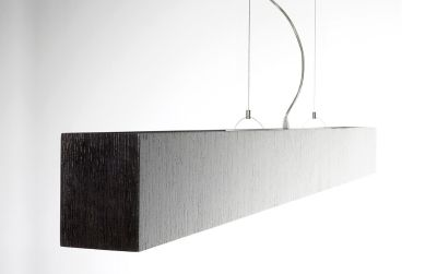 Quadrat Suspension Lamp 115x200, Wenge, Fluorescent