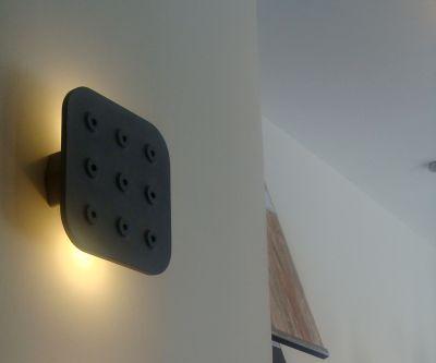 Quadrata N Concrete Wall Light Quadrata N