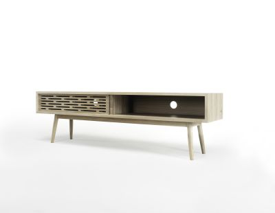 Radio Sideboard Oak Natural