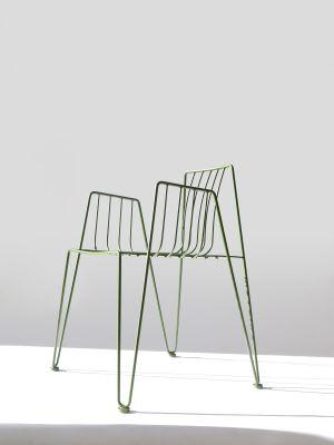 Rambla Dining Chair Olive Green