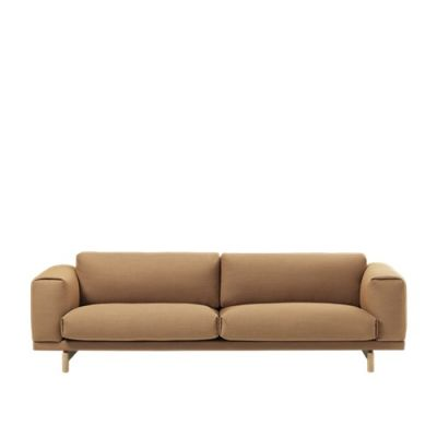 Rest 3-seater Sofa Hallingdal 65 810, Black