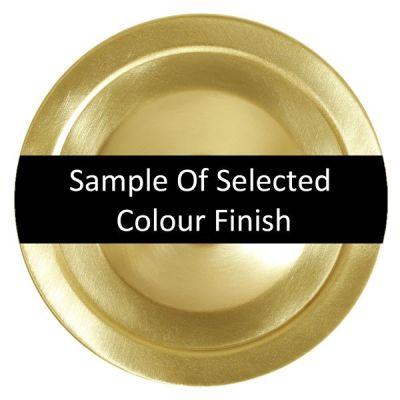 Riad Clear Globe Pendant 25cm Satin Brass