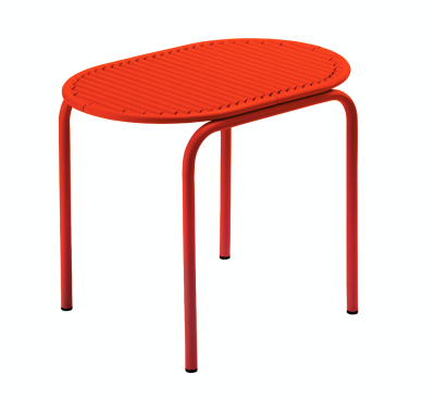 Roll Stool Red
