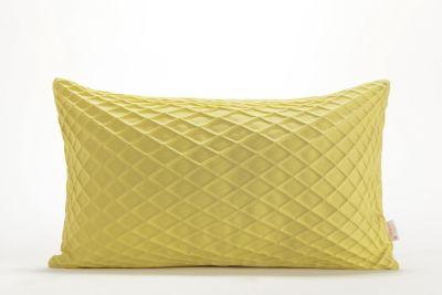 Rotem Rectangular Cushion Cover  Rotem Yellow