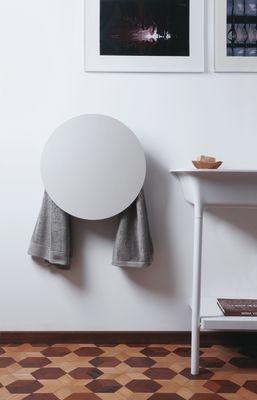 Round Towel Warmer White