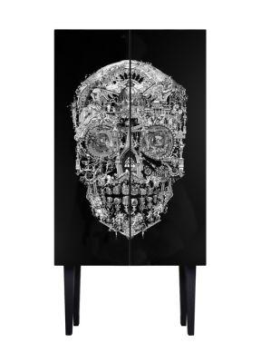 Sanctuary Skull Tall Cabinet Sanctuary Skull Tall Cabinet