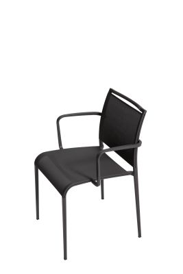 Sand Light Armchair Reti S01 Net - Black, B62 Matt White, No